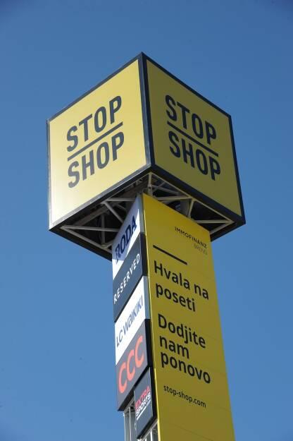 Immofinanz Stop Shop Lazarevac (Fotocredit: Immofinanz), © Aussendung (15.09.2017)