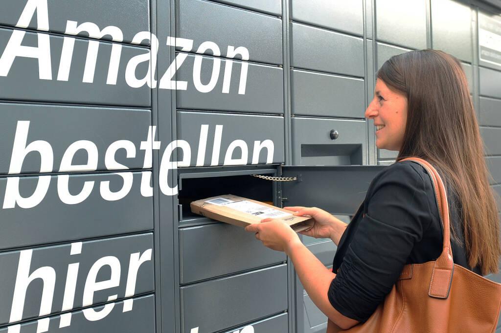 Die Nutzung von Amazon Locker ist einfach und sicher – ohne zusätzliche Anmeldung und ohne Zusatzkosten. (Fotocredit: Amazon), © Aussendung (15.09.2017)