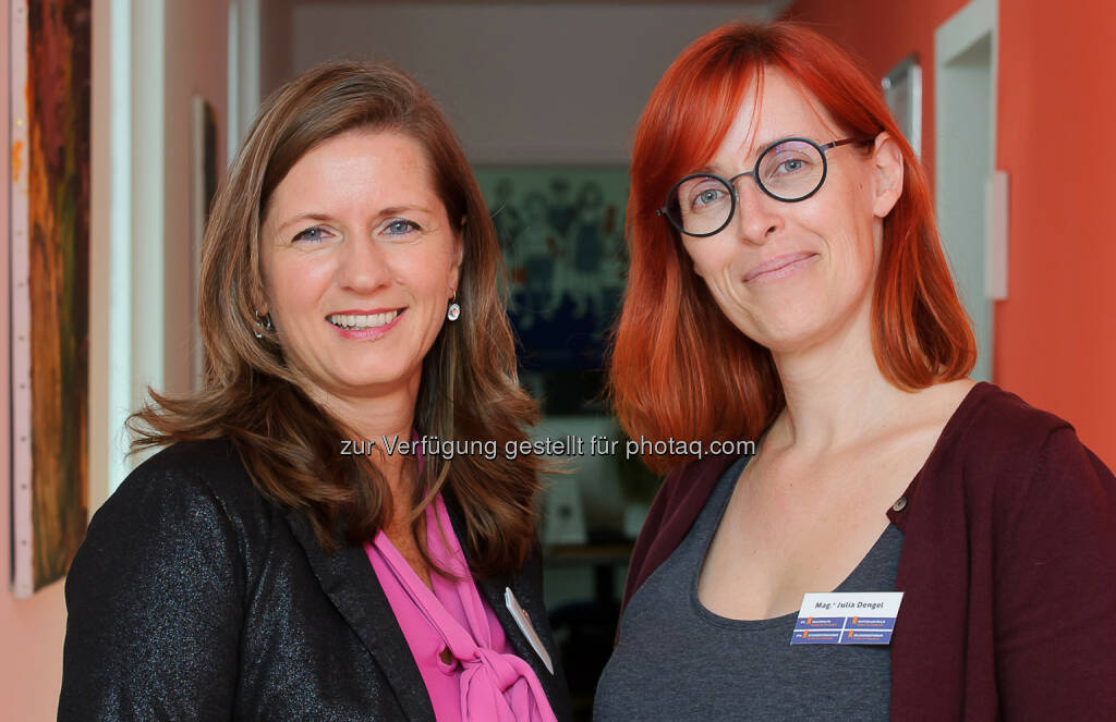 Barbara Hassler, Vitalakademie und Mag. Julia Dengel, Lern- und Bildungsinstitut DR. RAMPITSCH - Vitalakademie: Standortleiterinnen der Kooperationspartner Barbara Hassler und Julia Dengel (Fotocredit: WALLNER KORNELIA), © Aussender (19.09.2017)