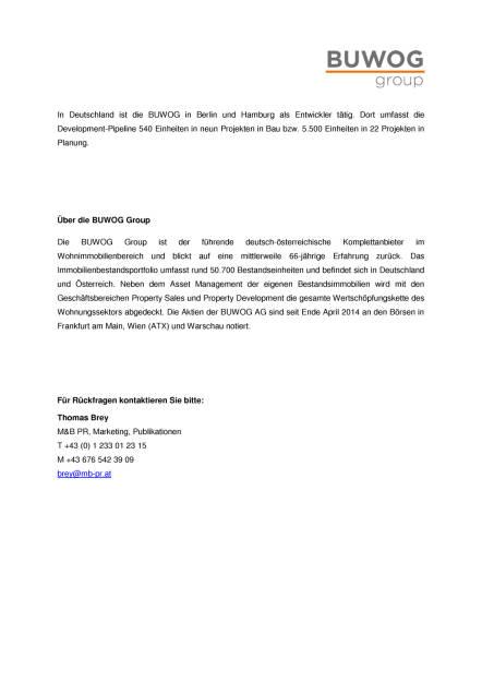 Buwog zum zweiten Mal in Folge bester Wohnbauentwickler, Seite 2/2, komplettes Dokument unter http://boerse-social.com/static/uploads/file_2342_buwog_zum_zweiten_mal_in_folge_bester_wohnbauentwickler.pdf (19.09.2017)