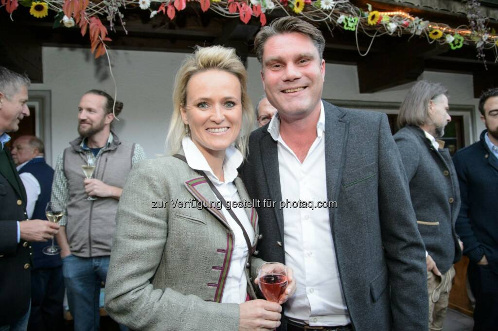 Alexandra Meissnitzer, Nationalratsabgeordneter Johannes Rauch (© café+co International/Rainer Gregor Eckharter) (24.09.2017)