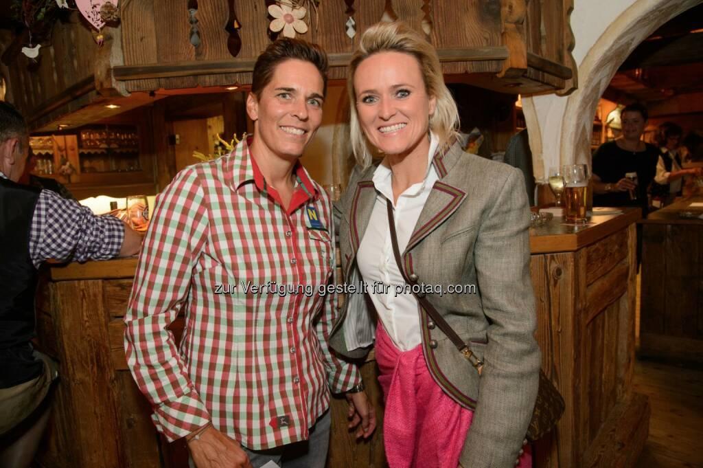 Ex-Skirennläuferinnen Michaela Dorfmeister und Alexandra Meissnitzer (© café+co International/Rainer Gregor Eckharter) (24.09.2017)