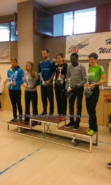 Alfreds Lauf 2017: Andreas Penias, Diana Berisa-Klusoczki, Roland Fencl, Aniko Balint, Farcad Mohammadi, Maria Hinnerth (24.09.2017)