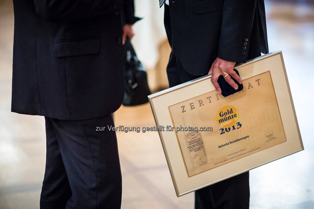 Goldmünze 2013 (26.05.2013)