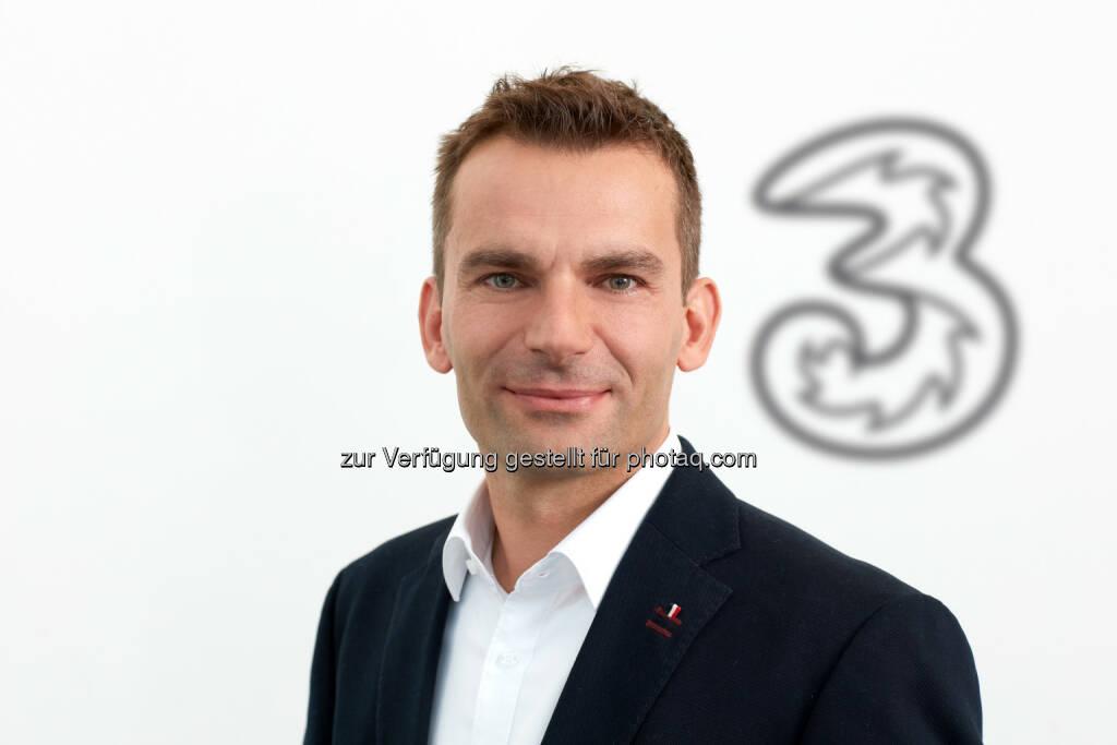 Hutchison Drei Austria Gmbh: Wolfgang Sulzgruber, Senior Head of New Business bei Drei (Fotograf: Karl Michalski / Fotocredit: Hutchison Drei Austria), © Aussender (27.09.2017)