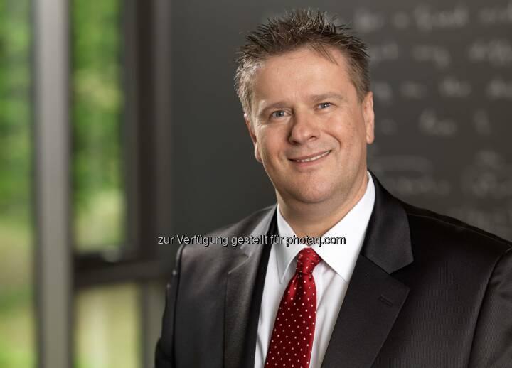 S&T-CEO Hannes Niederhauser; Foto: snt.at