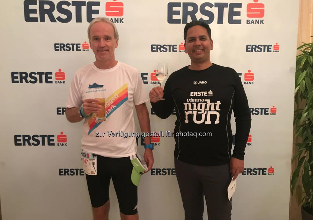 Mit Sandeep Hölzl-Singh von den Erste Group International Dinners (27.09.2017)