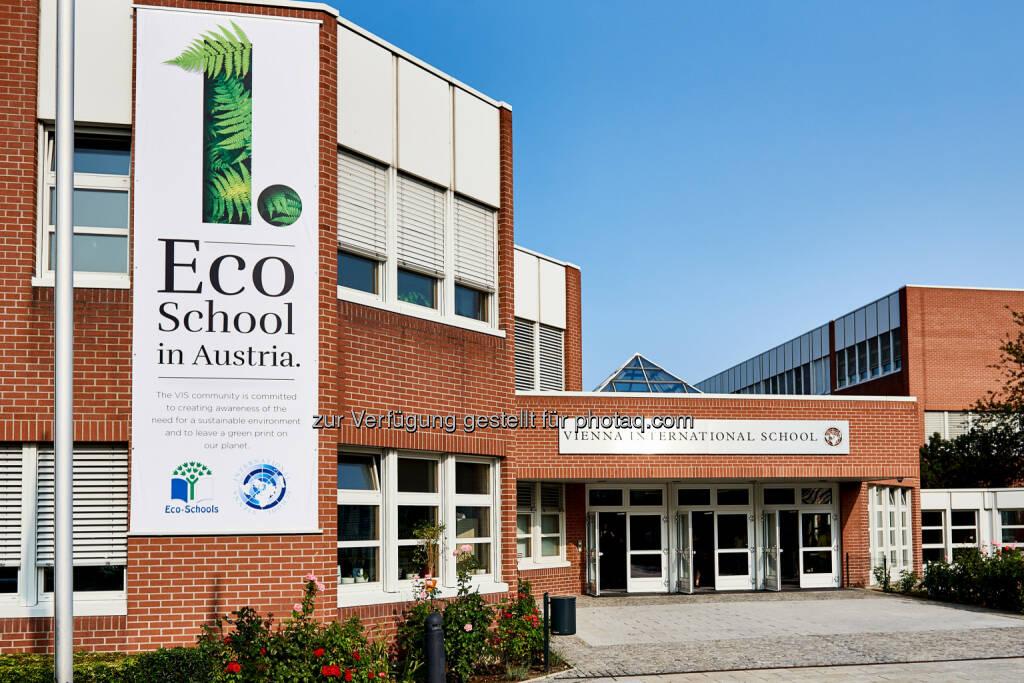 Vienna International School (VIS): Vienna International School als erste 'Eco-School' Österreichs ausgezeichnet (Fotograf: GABRIELEPAAR / Fotocredit: Vienna International School), © Aussender (28.09.2017)