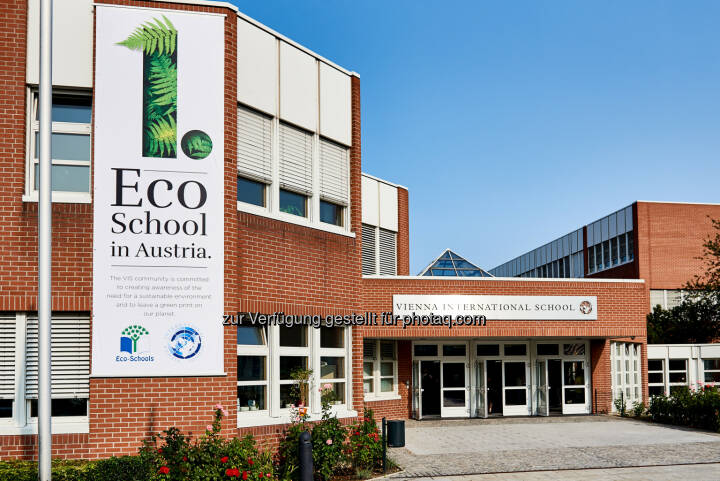 Vienna International School (VIS): Vienna International School als erste 'Eco-School' Österreichs ausgezeichnet (Fotograf: GABRIELEPAAR / Fotocredit: Vienna International School)