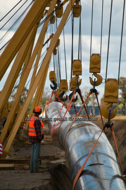 HABAU Hoch- und Tiefbaugesellschaft m.b.H: HABAU und PPS Pipeline Systems bringen Erdgas von der Ostsee bis nach Tschechien (Fotocredit: HABAU/PPS), © Aussender (28.09.2017)