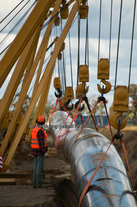 HABAU Hoch- und Tiefbaugesellschaft m.b.H: HABAU und PPS Pipeline Systems bringen Erdgas von der Ostsee bis nach Tschechien (Fotocredit: HABAU/PPS)