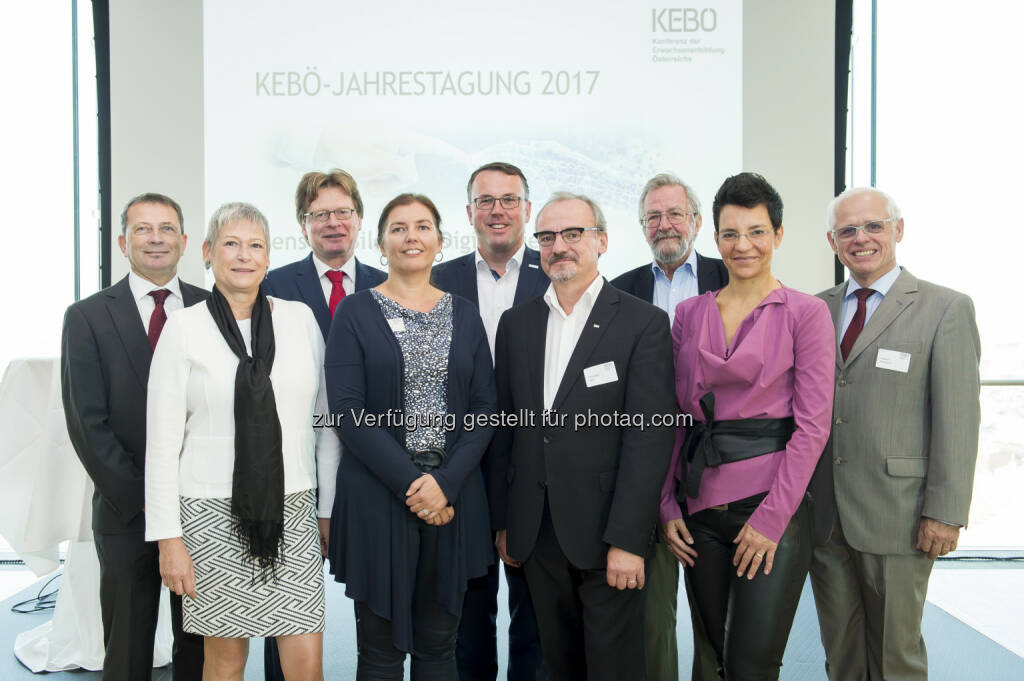 Konferenz der Erwachsenenbildung Österreich (KEBÖ): KEBÖ-Jahrestagung 2017 zur Zukunft der Erwachsenenbildung (Fotocredit: KEBÖ/APA-Fotoservice/Hörmandinger), © Aussender (28.09.2017)