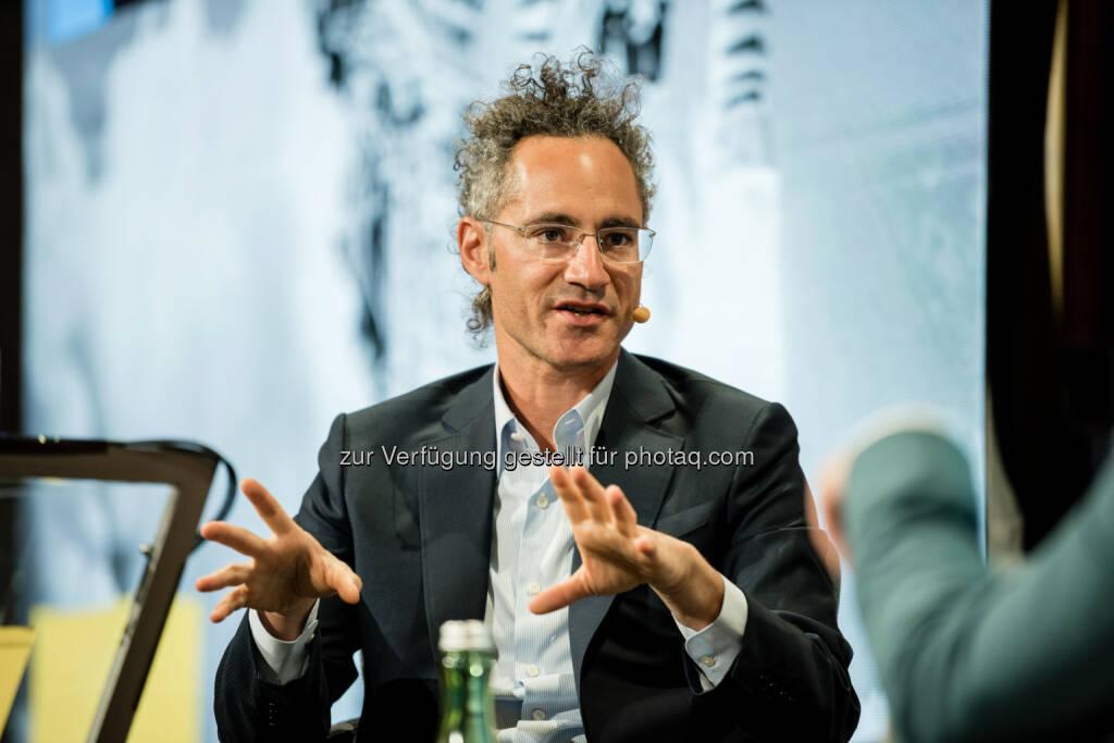 Alexander Karp - Darwin's Circle: Darwin's Circle: Österreichs einflussreichste Digitalisierungskonferenz geht an den Start (Fotograf: Klaus Ranger / Fotocredit: Ranger), © Aussender (28.09.2017)
