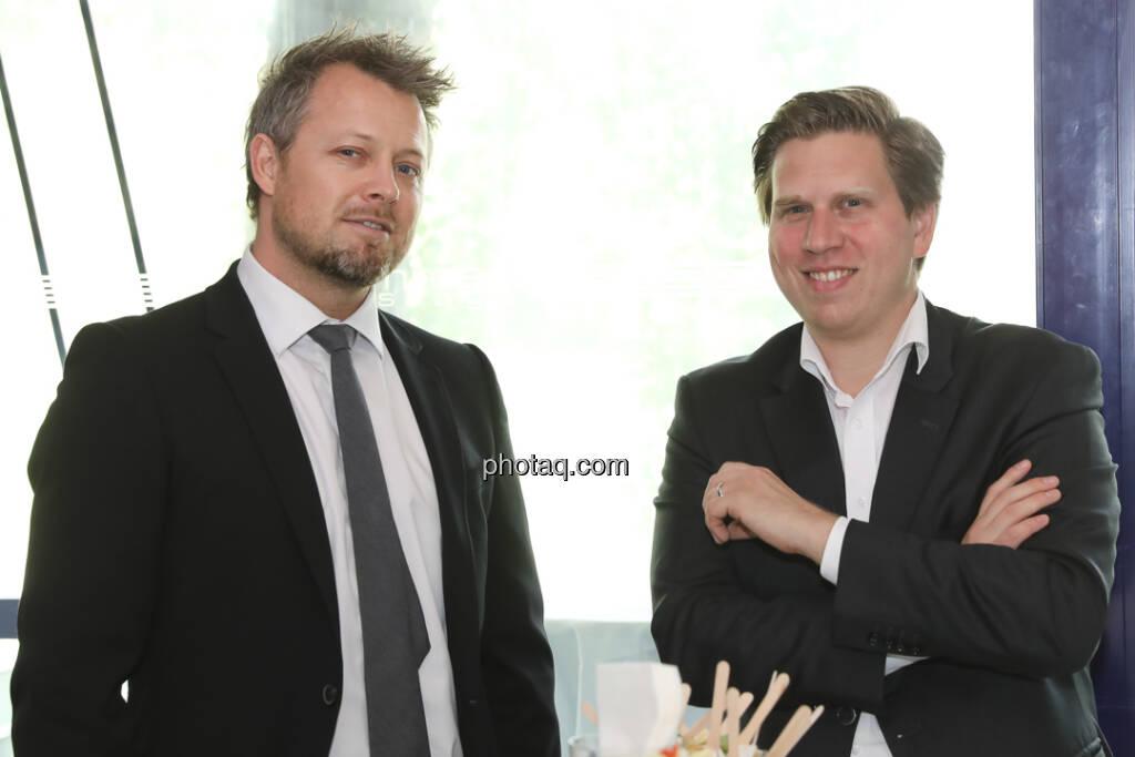 Ole Hagen Jorgensen (Global Evoltion), Richard Vrzal (GIIVX) - 4-your-biz Impact-Investing Konferenz (Fotocredit: Katharina Schiffl for photaq.com) (29.09.2017)