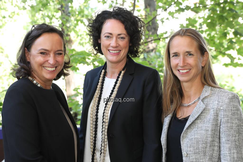 Alexandra Bolena, Susanne Lederer-Pabst, Martina Beran - 4-your-biz Impact-Investing Konferenz (Fotocredit: Katharina Schiffl for photaq.com) (29.09.2017)