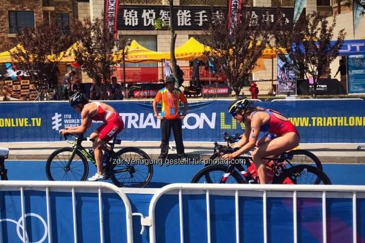 Rennen Spannung China