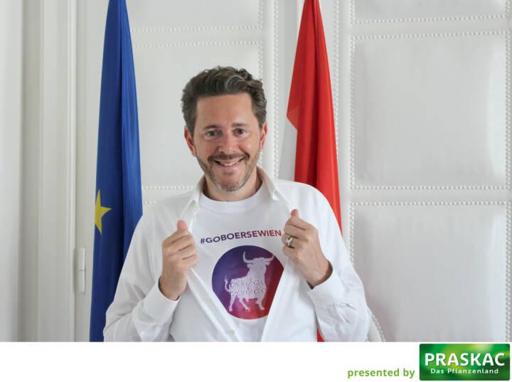 Mit Harald Mahrer #goboersewien , Slogan von http://www.boerse-social.com/magazine