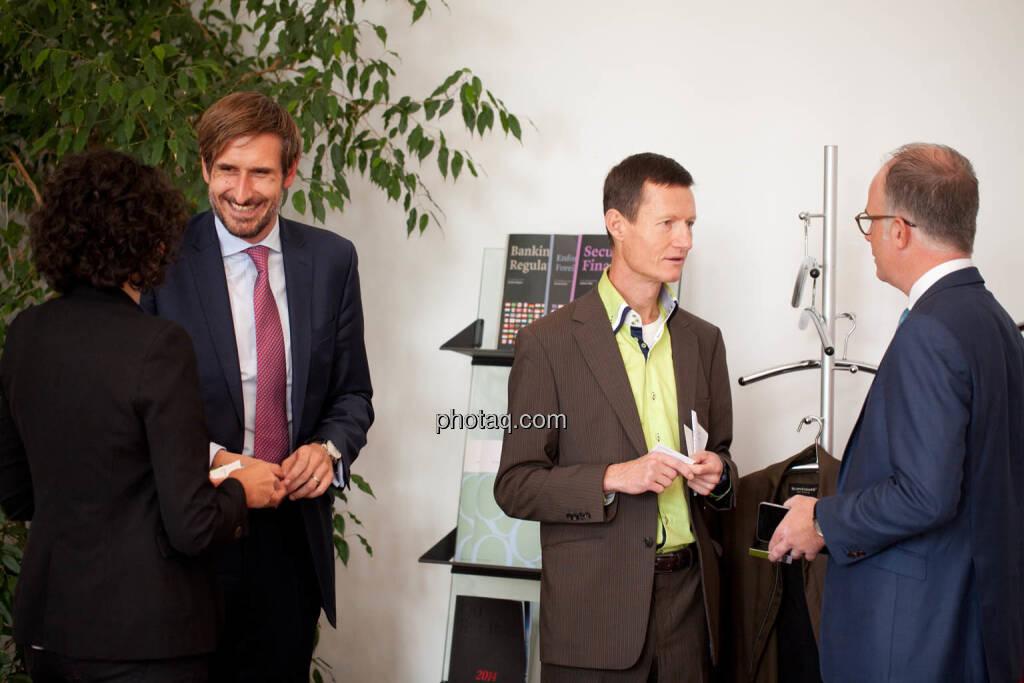 Susanne Lederer-Pabst (4-your-biz.com) - Christoph Moser (Partner bei Weber & Co. Rechtsanwälte) - Florian Vanek (Wiener Börse) - Karsten Wöckener (White & Case) - (Fotocredit: Michaela Mejta für photaq.com), © Michaela Mejta für photaq.com (02.10.2017)