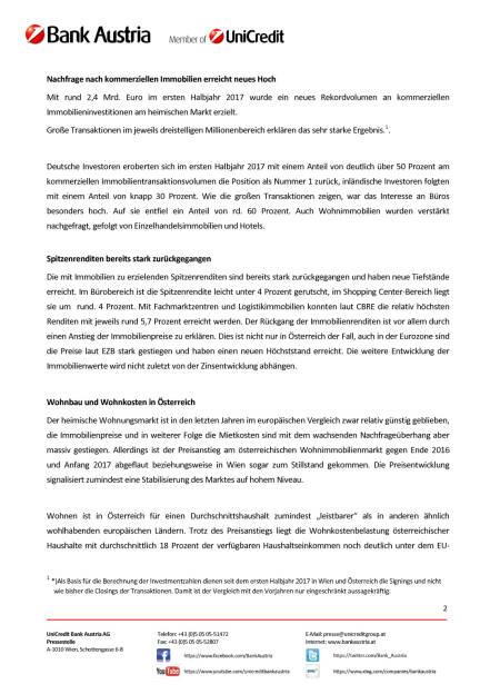 Hohe Nachfrage nach heimischen Immobilien im Jahr 2017, Seite 2/4, komplettes Dokument unter http://boerse-social.com/static/uploads/file_2355_hohe_nachfrage_nach_heimischen_immobilien_im_jahr_2017.pdf (03.10.2017)