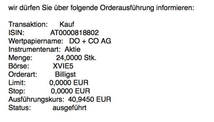 Kauf Do&Co für #100100hello #goboersewien