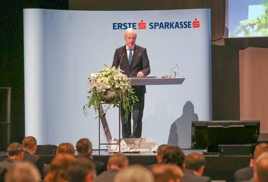 Gerhard Fabisch, Präsident des Österreichischen Sparkassenverbandes; Fotocredit: Novak_Sparkassenverband (05.10.2017)