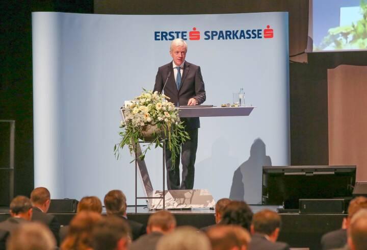 Gerhard Fabisch, Präsident des Österreichischen Sparkassenverbandes; Fotocredit: Novak_Sparkassenverband