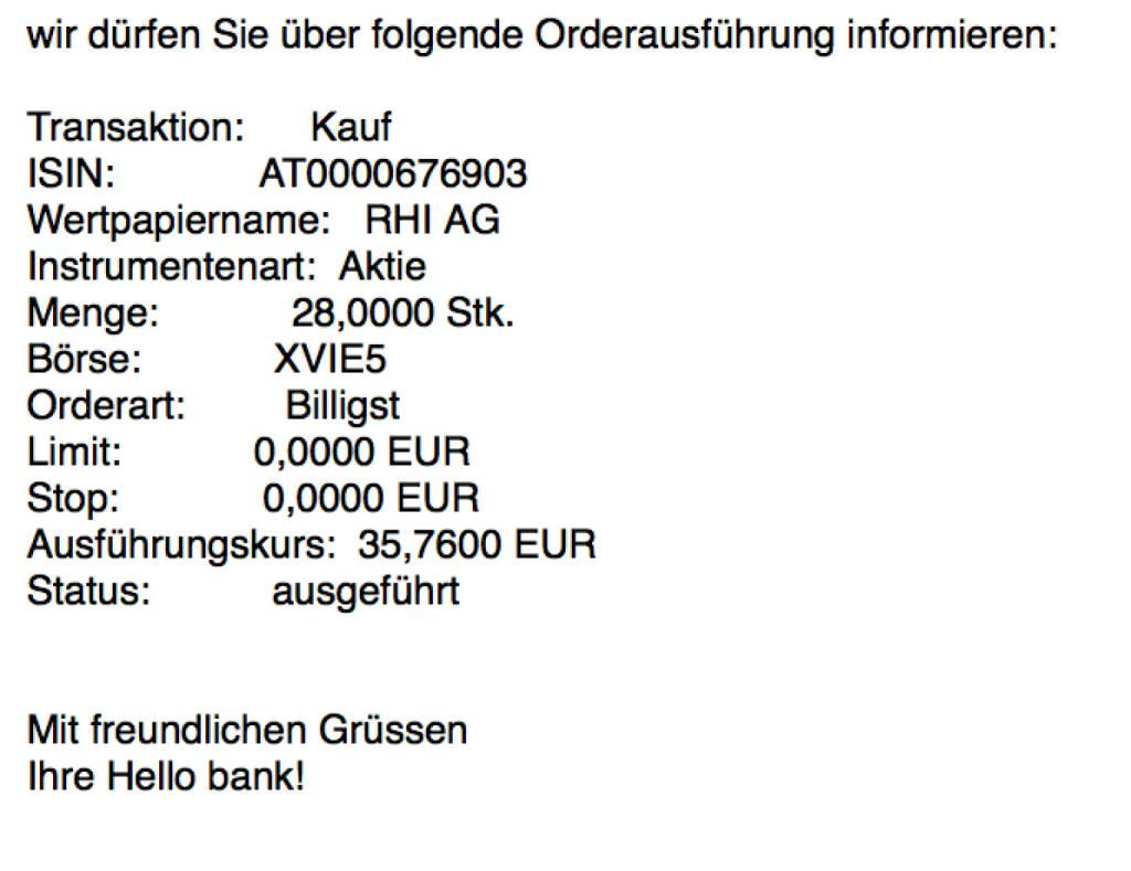 Kauf RHI für #100100hello #goboersewien (05.10.2017)