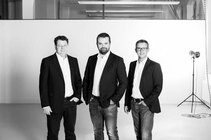 Johannes Eichmeyer, Stefan Kainz und Stefan Kainz