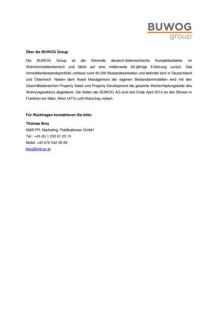 Buwog auf Expo Real mit Real Estate Brand Award ausgezeichnet, Seite 2/2, komplettes Dokument unter http://boerse-social.com/static/uploads/file_2358_buwog_auf_expo_real_mit_real_estate_brand_award_ausgezeichnet.pdf (06.10.2017)