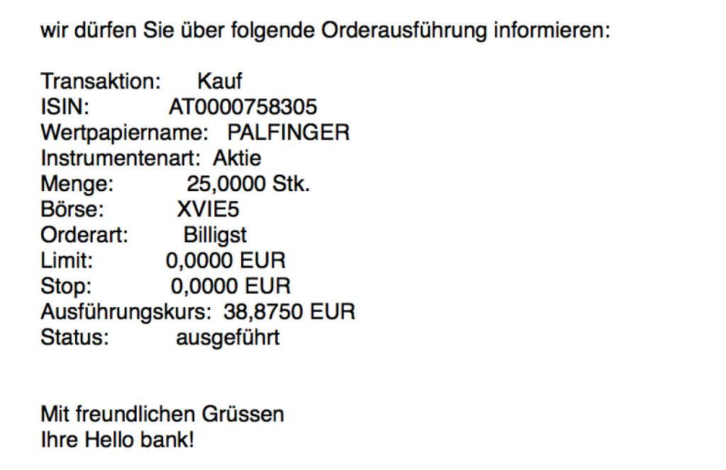 Kauf Palfinger für #100100hello #goboersewien (06.10.2017)