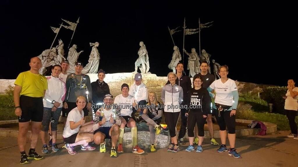 Vollmond Lauftreff von Laufend Helfen (06.10.2017)