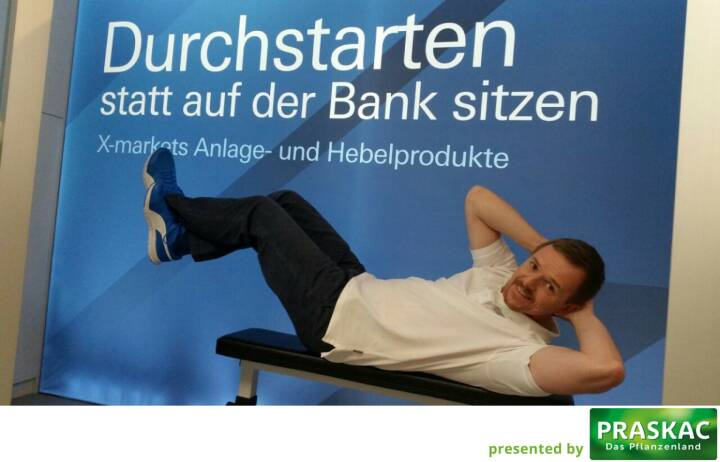 Durchstarten statt auf der Bank sitzen - Christian-Hendrik Knappe, Deutsche Bank X-markets, Runplugged Laufstark