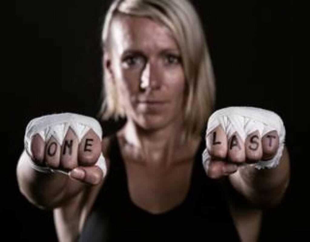 Kickboxerin Nicole Trimmel, Fotocredit: Kelemen Photography (08.10.2017)