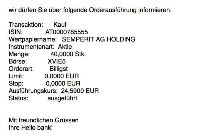 Kauf Semperit für #100100hello #goboersewien