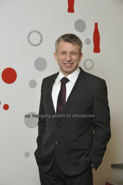 Führungswechsel bei Coca-Cola Hellenic Österreich: Ab Juni leitet Jozsef Tarsoly (46) die Geschäfte als Country Manager Österreich und Slowenien (c) Aussendung (27.05.2013)
