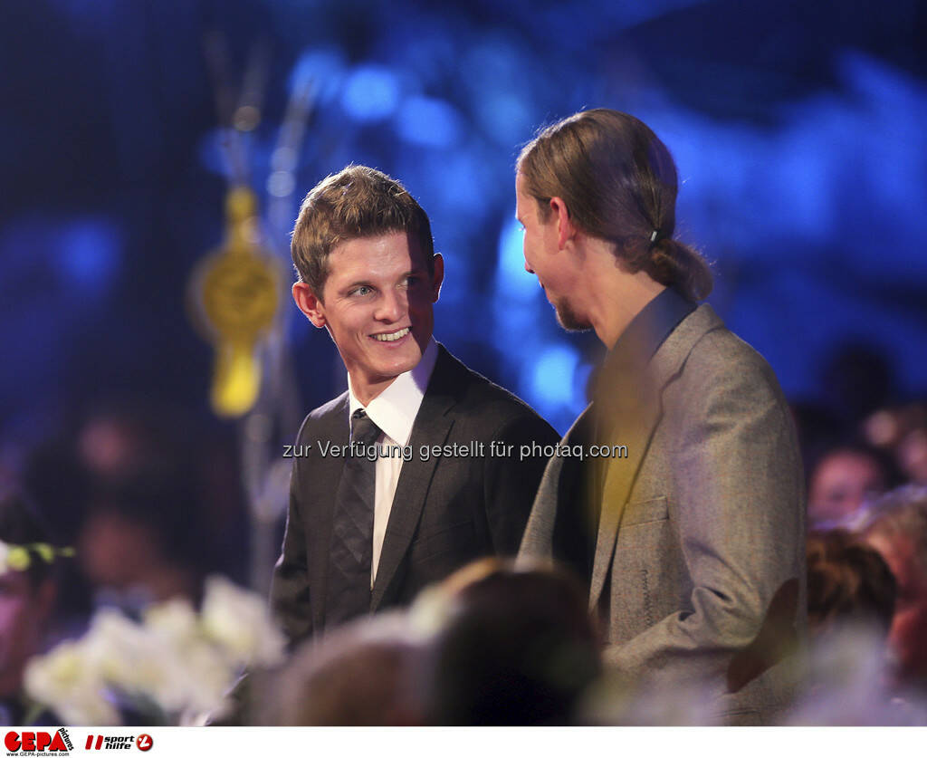 Thomas Morgenstern, Martin Koch, © GEPA pictures/ Sporthilfe (15.12.2012)