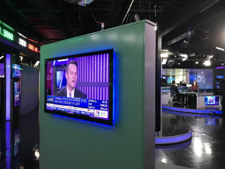 Wiener Börse: Featured on today's CNBC show street signs talking about the recent developments of Wiener Börse AG: Highest monthly turnover since 2010, heading for a new number of executed orders and strong market cap.