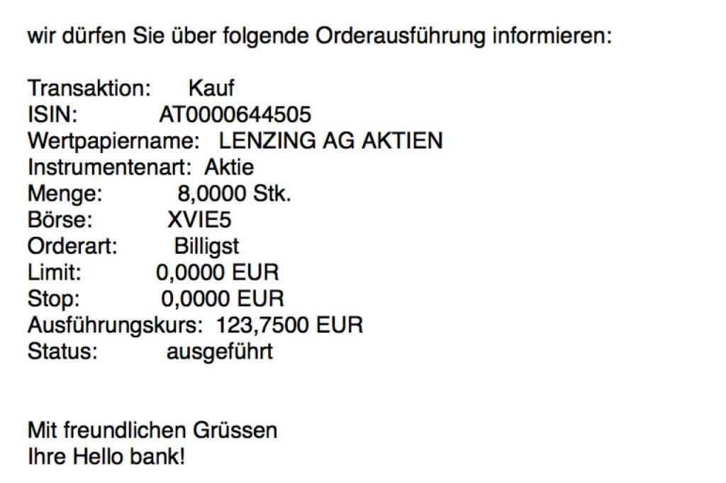Kauf Lenzing für #100100hello #goboersewien (11.10.2017)