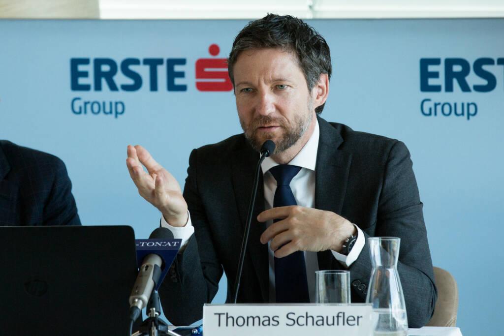Thomas Schaufler, Privatkundenvorstand der Erste Bank Oesterreich, Fotocredit: Erste Bank, © Aussender (12.10.2017)