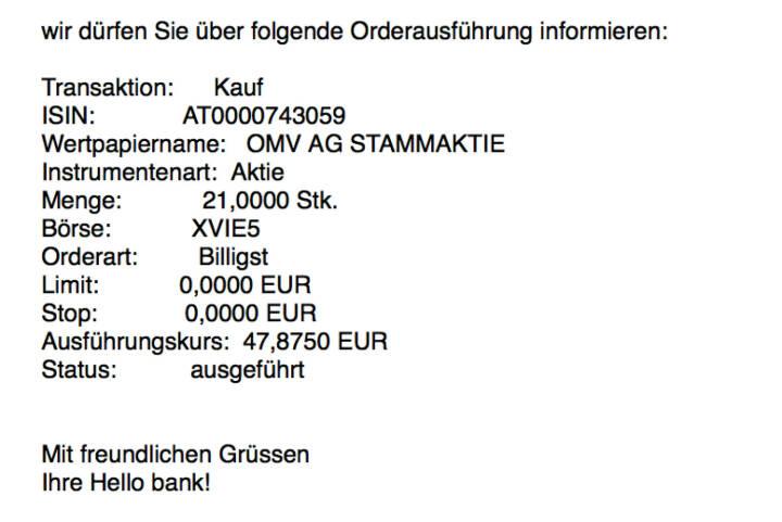 Kauf OMV für #100100hello #goboersewien