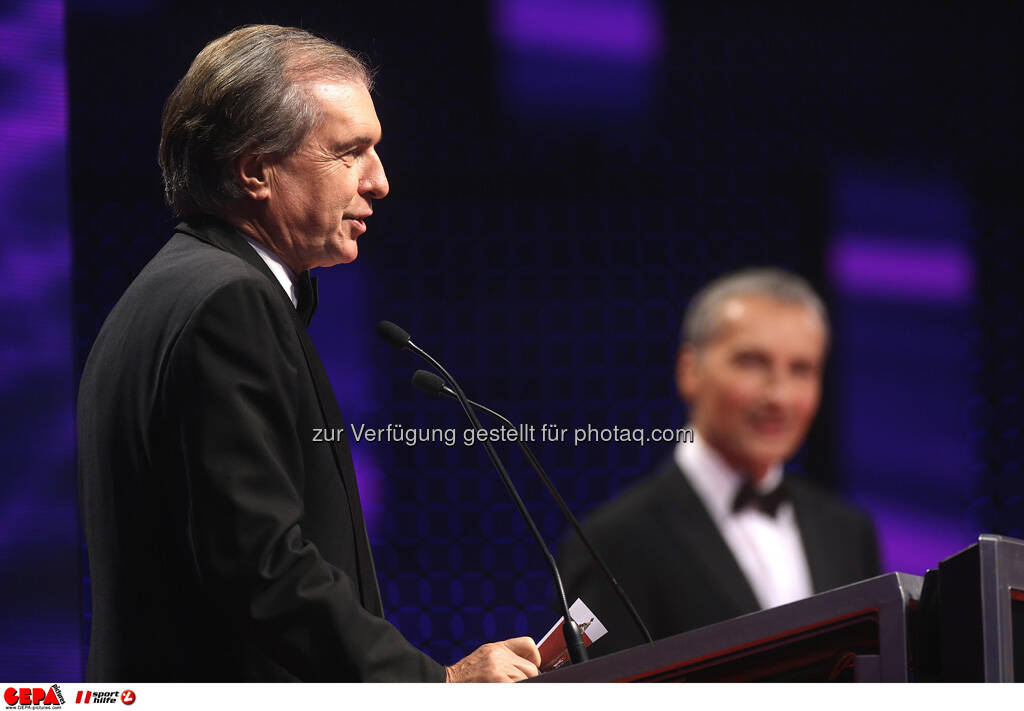 Friedrich Stickler, Rainer Pariasek, © GEPA pictures/ Sporthilfe (15.12.2012)
