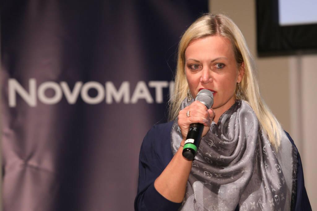 Dr. Monika Poeckh-Racek (Vorstandsvorsitzende ADMIRAL Casinos & Entertainment AG); Bildcredit: Willy Lehmann Markenagentur /APA-Fotoservice/Schedl (13.10.2017)