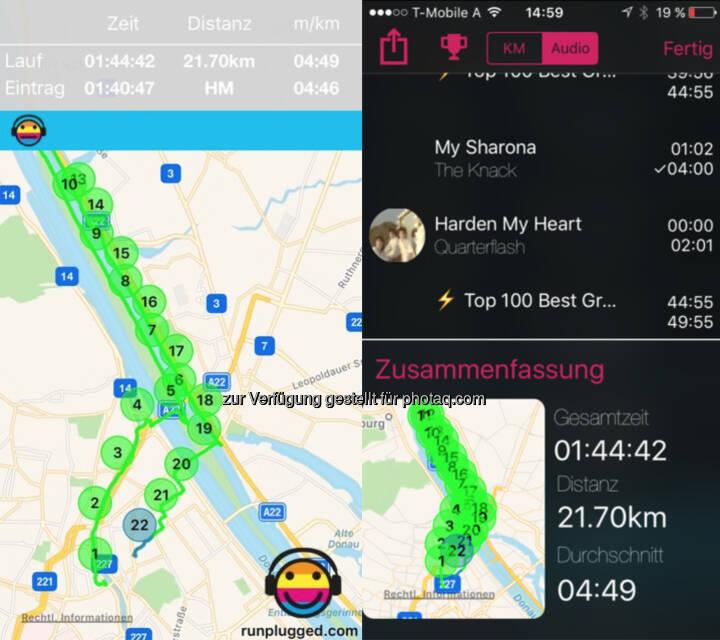 HM via Runplugged App