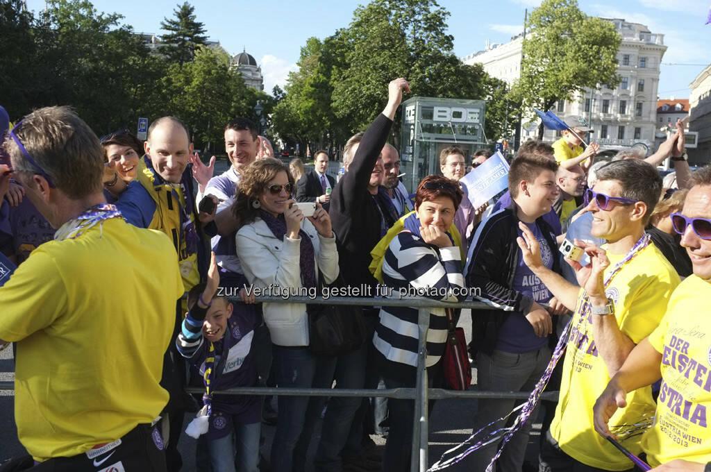 Trainerstab Austria Wien (28.05.2013)