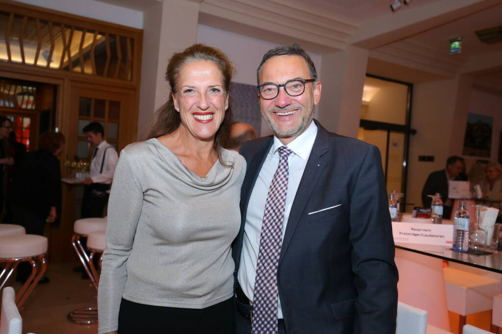 Heinz Stiastny und Ursula Nosal, Fotocredit: Robin Consult/Moni Fellner (18.10.2017)