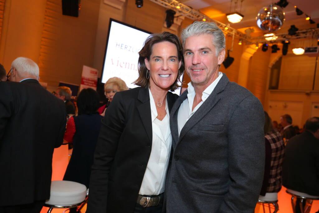 Kathi Stumpf und Freund Alexander Beza, Fotocredit: Robin Consult/Moni Fellner (18.10.2017)