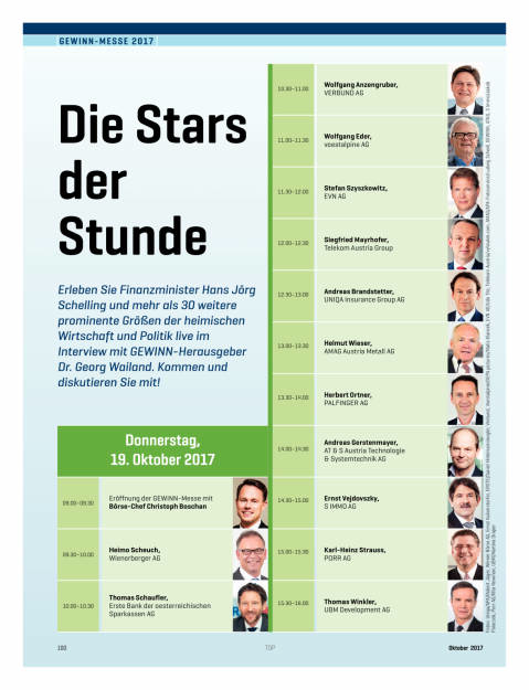 Gewinn Messe 2017 - Die Stars der Stunde, Seite 1/2, komplettes Dokument unter http://boerse-social.com/static/uploads/file_2370_gewinn_messe_2017_-_die_stars_der_stunde.pdf (18.10.2017)
