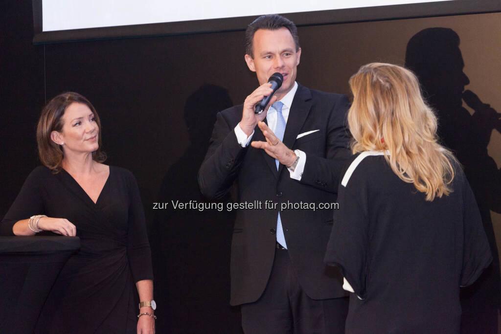 Viola Grebe, Christoph Boschan, © C.I.R.A./APA-Fotoservice/Martin Lusser (18.10.2017)