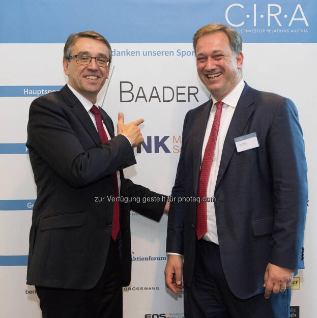 Harald Hagenauer, Nico Baader, © C.I.R.A./APA-Fotoservice/Martin Lusser (18.10.2017)