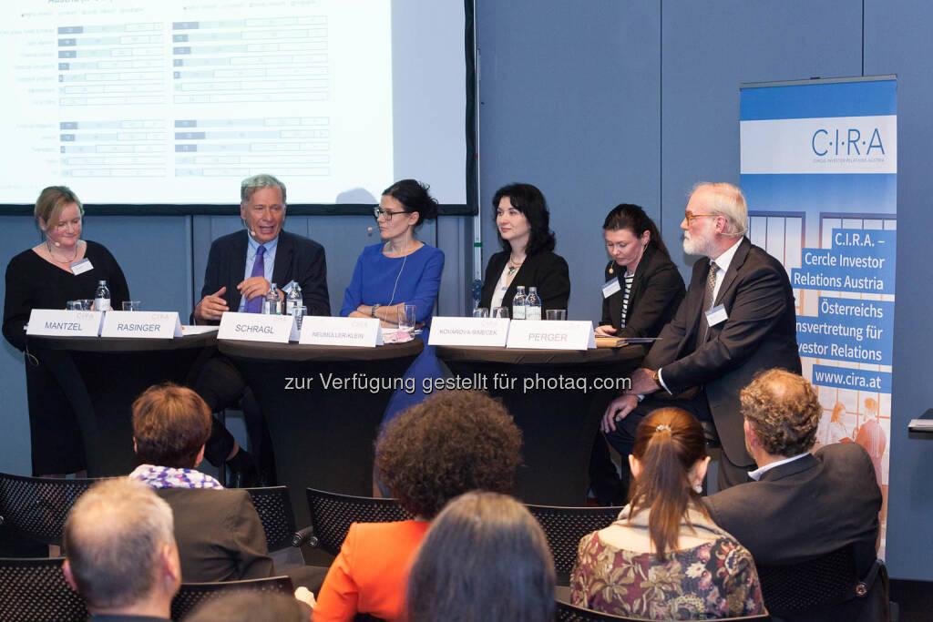Wilhelm Rasinger, Bettina Schragl, Diana Klein, Monika Kovarova-Simecek, Marius Perger, © C.I.R.A./APA-Fotoservice/Martin Lusser (18.10.2017)